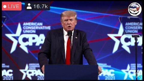 President Trump Speaks At CPAC Texas 2021