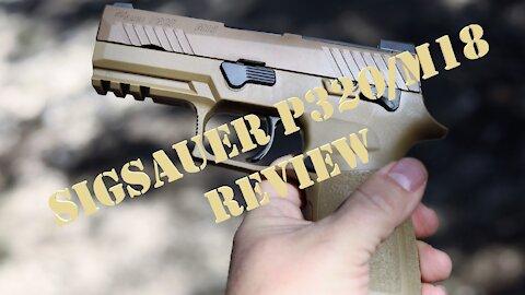 SigSauer P320/M18 Review