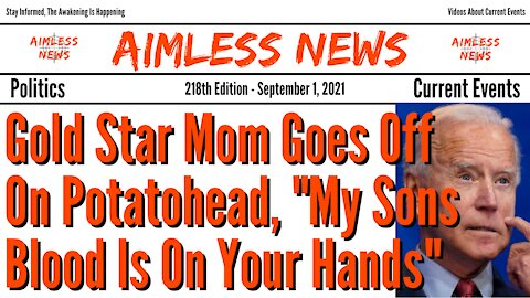 """Gold Star Mom Goes Off On Potatohead, """"My Sons Blood Is On Your Hands"""" (Arrest Him For Treason)"""