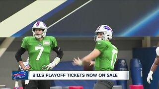 Bills playoff tickets now on sale
