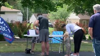 Organizers collect signatures in an effort to recall Gov. Evers