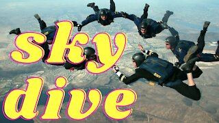 free-fly sky divers