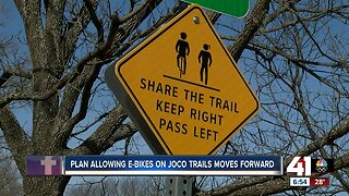 Plan allowing e-bikes on JoCo trails moves forward