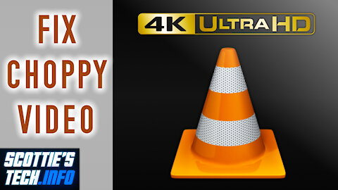 How to fix choppy video in VLC