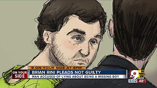 Brian Rini pleads not guilty