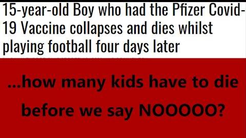...how many kids have to die before we say NOOOOO?