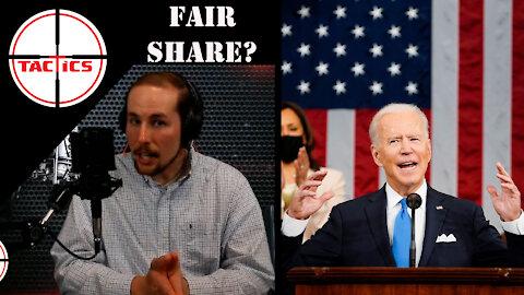 Caleb Destroys Biden's Claim That the Rich Don't Pay Their Fair Share