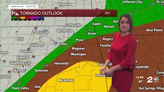 Severe Storms Late Afternoon & Evening