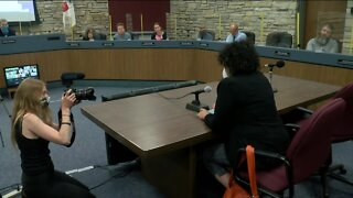 Protesters disrupt city hall meeting in Wauwatosa