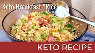 Keto Breakfast Rice | Keto Diet Recipes
