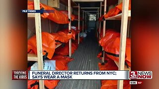Funeral Director Returns from NYC