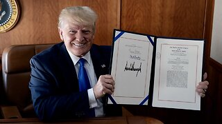 President Trump Signs Disaster Relief Bill After Multiple Delays