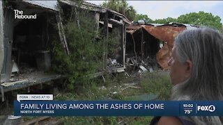 Family still recovering one year after fire