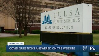 COVID-19 questions answered on TPS website