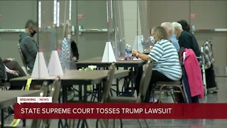 Wisconsin Supreme Court rules against President Trump's lawsuit attempting to overturn election results