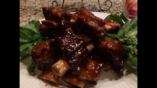 BBQ Short Beef Ribs with amazing sauce - #23