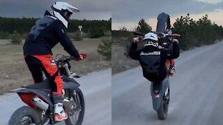 Insane Bike Stunt