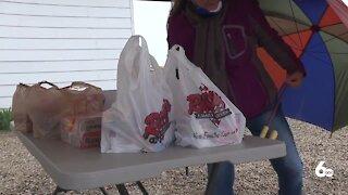 Kuna Grange hosts its first-ever community food drive