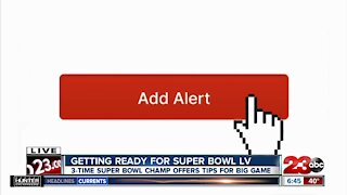 Getting ready for Super Bowl LV