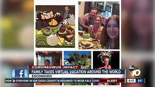 Escondido family takes a weeklong virtual trip around the world