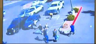 Las Vegas police share additional details into shooting involving officer near gun range