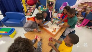 Play therapy room gives Boynton Beach students a place to unwind