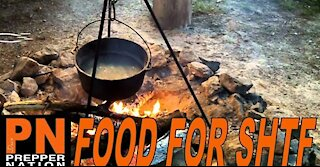 Food for SHTF - Bugging Out