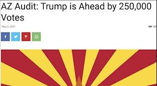 RUMOUR: Trump up by 250,000 in Arizona Audit