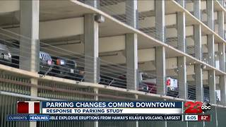 Changes coming to Bakersfield's downtown parking problem