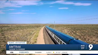 Details of proposed Tucson-Phoenix passenger train
