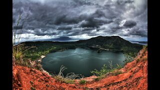 Taal Volcano 10 Months After Eruption
