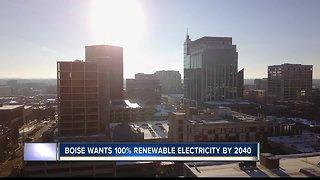 Boise wants 100% renewable energy by 2040