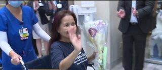 Las Vegas nurse makes miraculous COVID-19 recovery