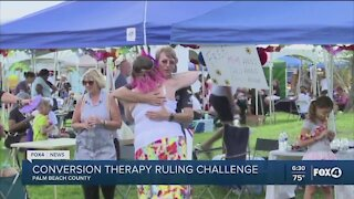 Conversion therapy ruling challenged