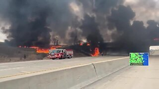 Mom saves driver from tanker fire on way from NICU