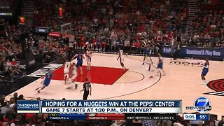 Nuggets enter Game 7 against Trail Blazers