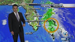 Tropical depression forms