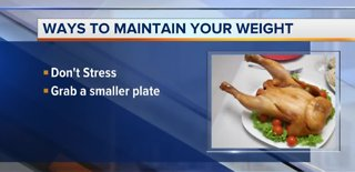 How to maintain your weight during holidays