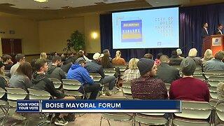 Boise State hosts Boise Mayoral Debate
