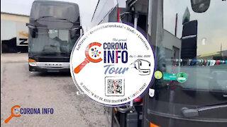 Die CORONA INFO Tour | Serie - Tag 12 - Cottbus - Polizei im Restaurant