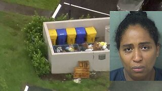 35-year-old woman arrested after baby found alive in west Boca dumpster