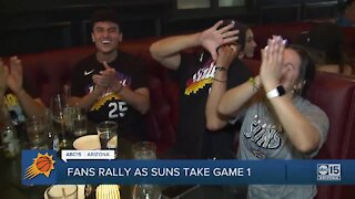 Fans rally as Phoenix Suns take Game 1 of NBA Finals