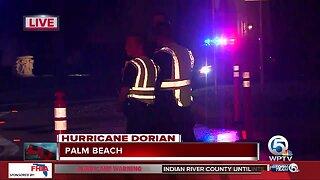 Mandatory evacuations on Palm Beach