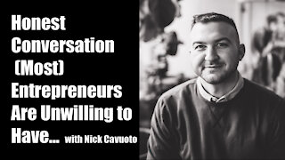 The Entrepreneur Epidemic, with Nick Cavuoto