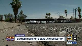 Changes coming to deadly intersection in Phoenix after ABC15 report