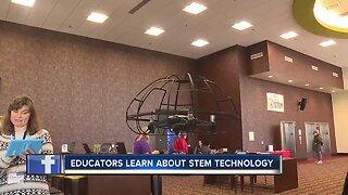 Educators learn about STEM technology