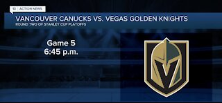 Vegas Golden Knights have chance to advance tonight