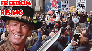 Anti Lockdown Protests Breakout Everywhere After Globalist Overstep