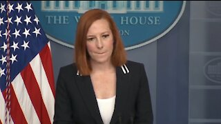 Reporter Confronts Psaki About Biden's Racist Past and She Can't Handle It