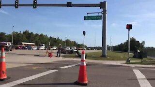Fatal crash causes roadblock at Michael G. Rippe near Briarcliff